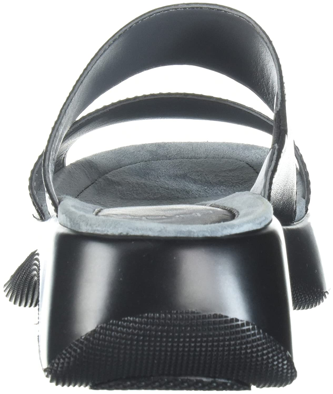 Dansko Women's Lana M Slide Sandal B072WHC3XJ 40 M Lana EU (9.5-10 US)|Black Full Grain 404228