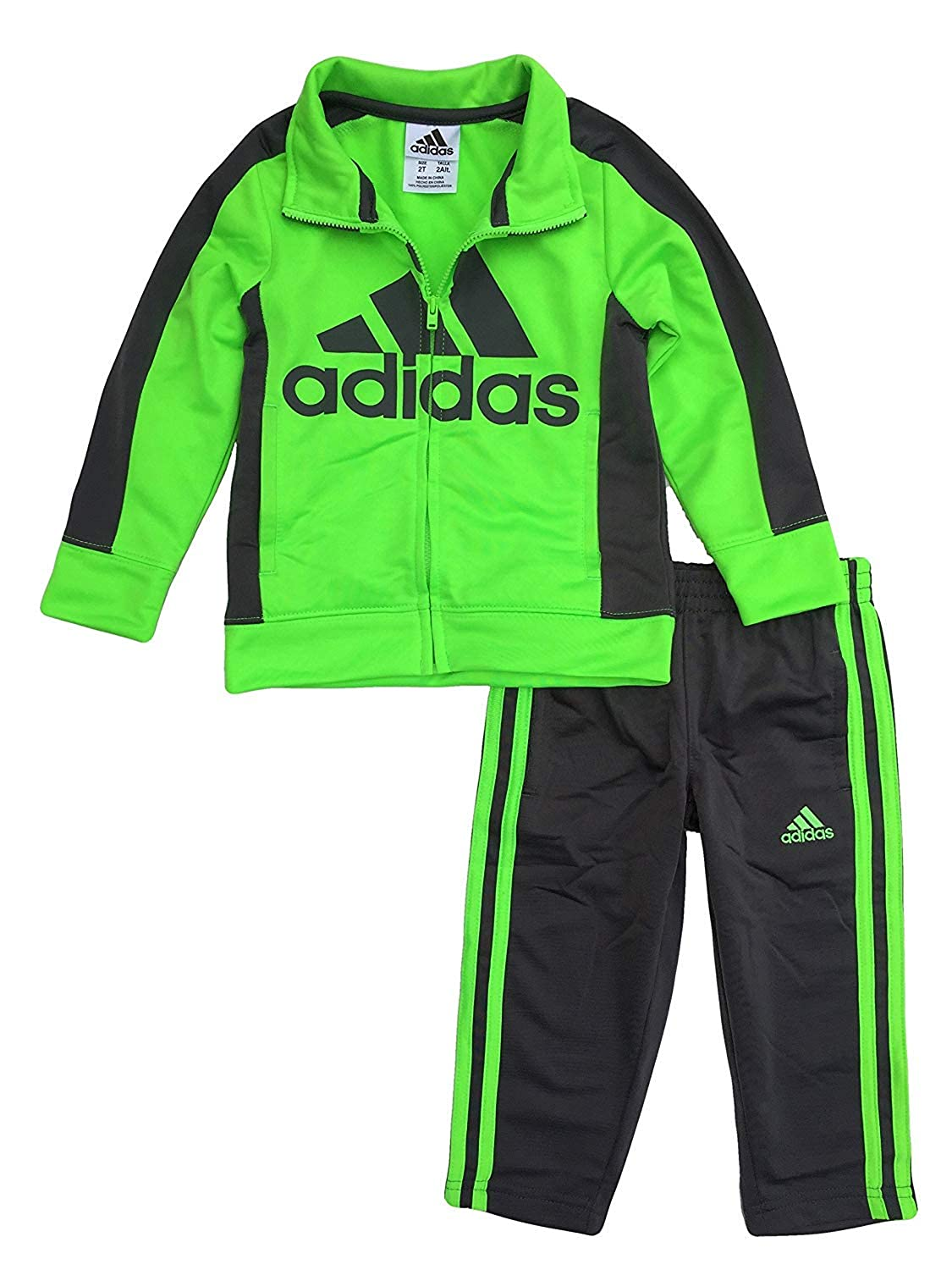 adidas Boys' Tricot Jacket and Pant Set 5) AG6059