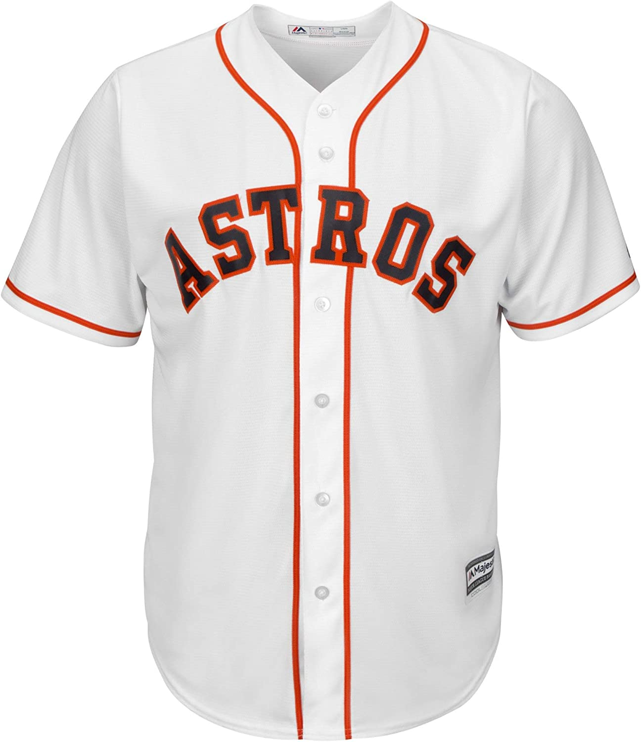 Outerstuff Jose Altuve Houston Astros MLB Majestic Toddler White Home Cool Base Player Jersey