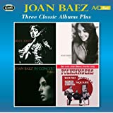 Three Classic Albums Plus (Joan Baez / Joan Baez Vol 2 / In Concert - Part 1)