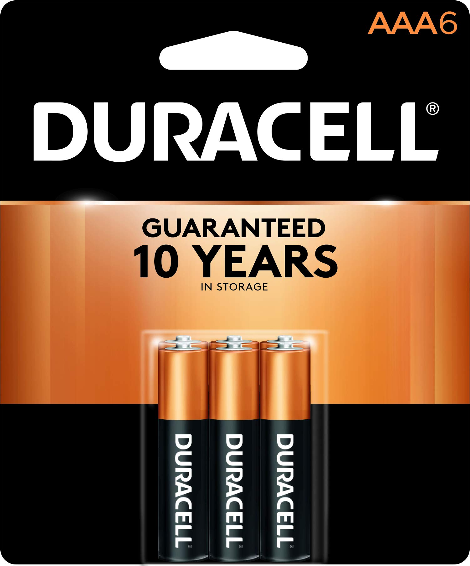 Amazon.com: Duracell - CopperTop AAA Alkaline Batteries - long lasting, all-purpose Triple A battery for household and business - 6 count: Health & Personal ...
