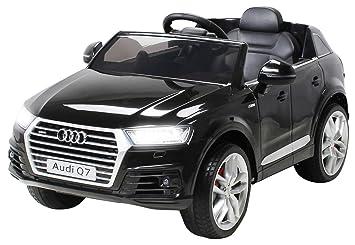 giordano shop Macchina Elettrica per Bambini 12V Audi Q7 2017 Nera