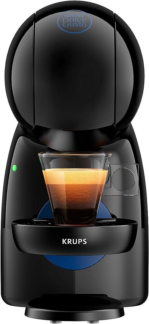 Krups Piccolo KP1A08 - Cafetera cápsulas Nestlé Dolce Gusto de 15 bares de presión y 1500 W de potencia con depósito de 0,8 L, monodosis multibebidas frías y calientes, manual (Reacondicionado): Amazon.es: Hogar