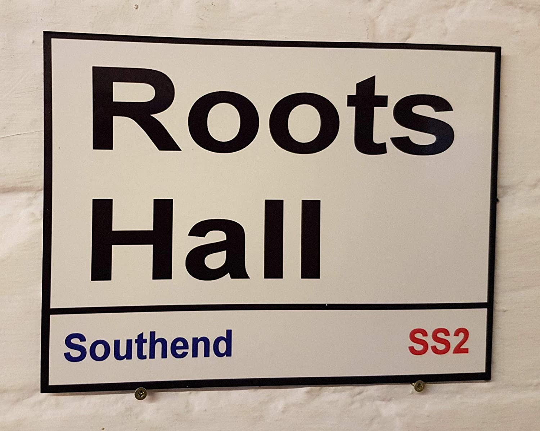 HNNT Southend UTD FC - Placa metálica (20 x 30 cm), diseño de ...