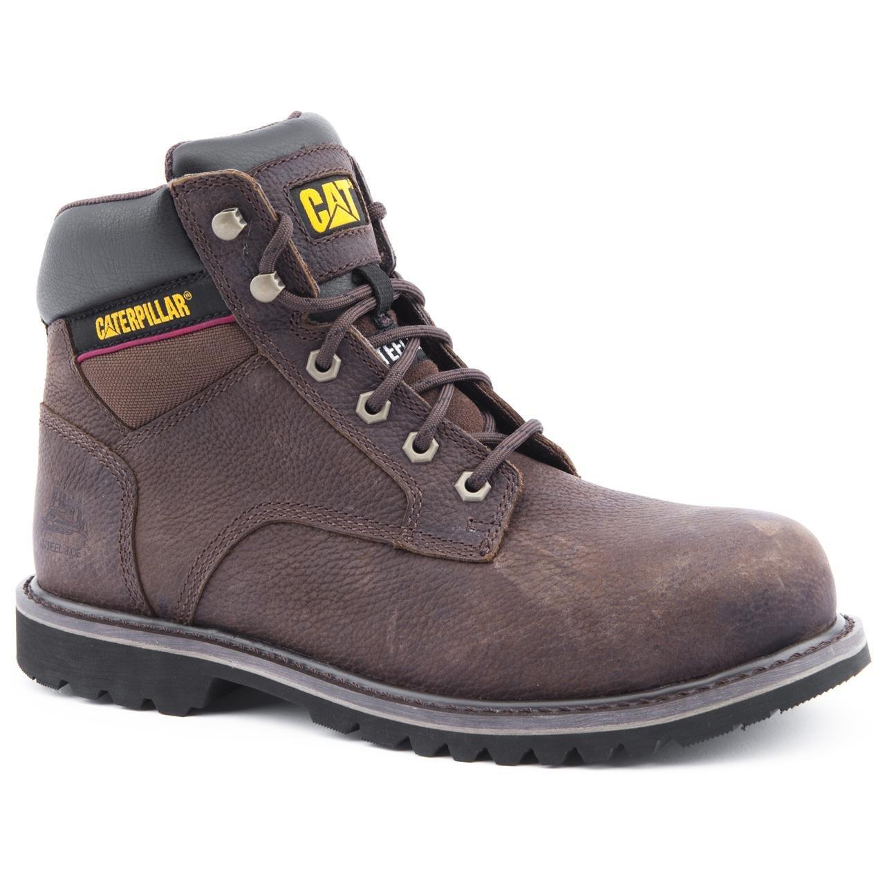 Caterpillar - Botas de Piel para hombre Marrón marrón, color Marrón, talla 40: Amazon.es: Zapatos y complementos