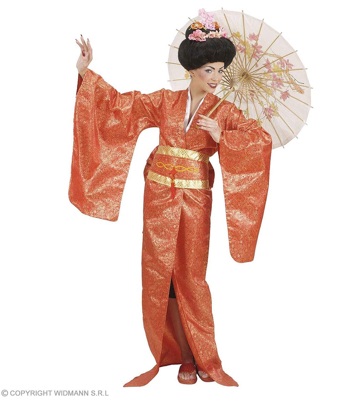 Widmann wdm90573 – Kostüm für Erwachsene Geisha, mehrfarbig, L