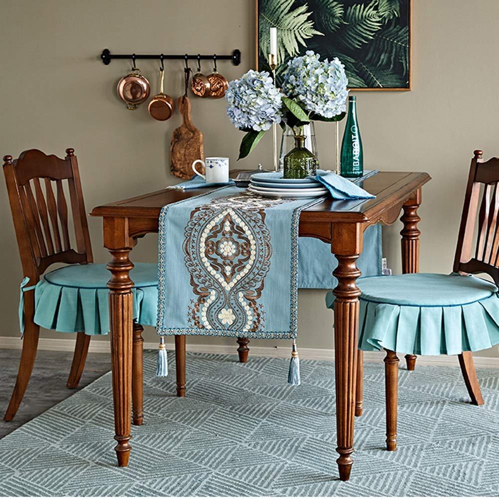 テーブルフラット - テーブルクロス、生地装飾、テーブルクロス、ホームデコレーション、綿とリネンアート、新しい中国スタイル、テレビキャビネットコーヒーテーブルテーブルクロスシンプルなレトロな中国スタイル   B07K1ZD478
