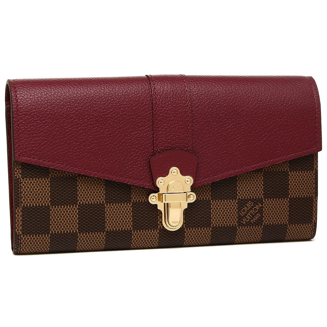[ルイヴィトン] 長財布 レディース LOUIS VUITTON N64448 パープル ブラウン [並行輸入品] B07C6YNBJ9