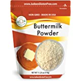 Judee's Buttermilk Powder (11.25 Oz): Non-GMO - Hormone Free - USA Produced (1.5 lb-24 oz value size available also)