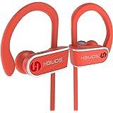 Hbuds Auriculares Inalambricos Bluetooth Deportivos 4.1 H1 con Micrófono y Cancelación de Ruido y Impermeables IPX7