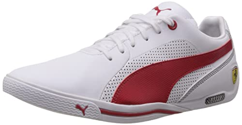 c42751578a4a Puma Men s Selezione SF White-Rosso Corsa Leather Running Shoes - 11 UK  India