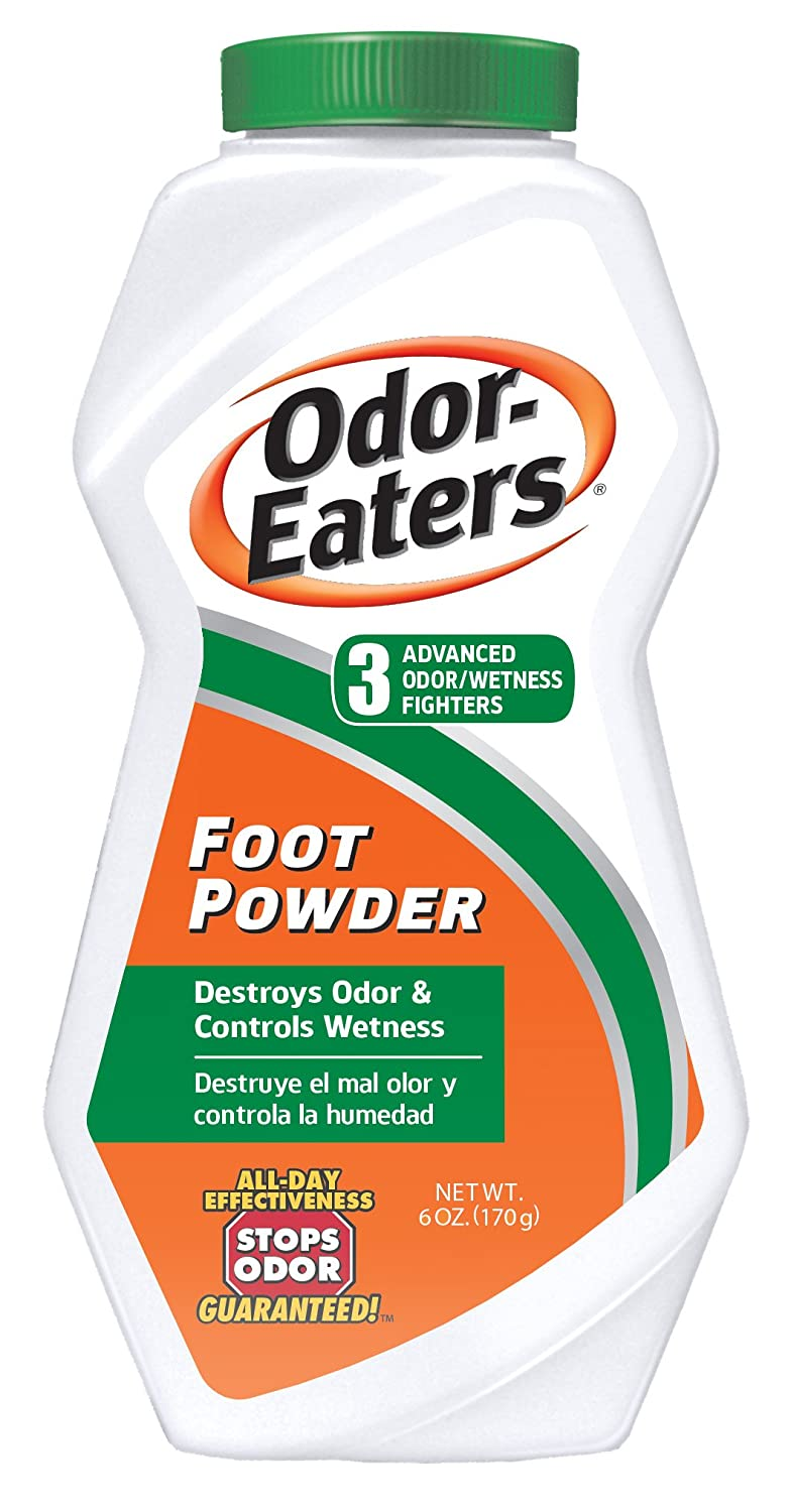 Odor-Eaters Foot Powder, 6-Ounces (Pack Of 4) by Odor-Eaters 4332430247
