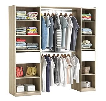 Habeig Riesiger Kleiderschrank 5077 Begehbar Offen Garderobe