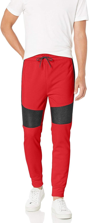 Southpole Men's Tech Fleece Basic Jogger Pant: Clothing