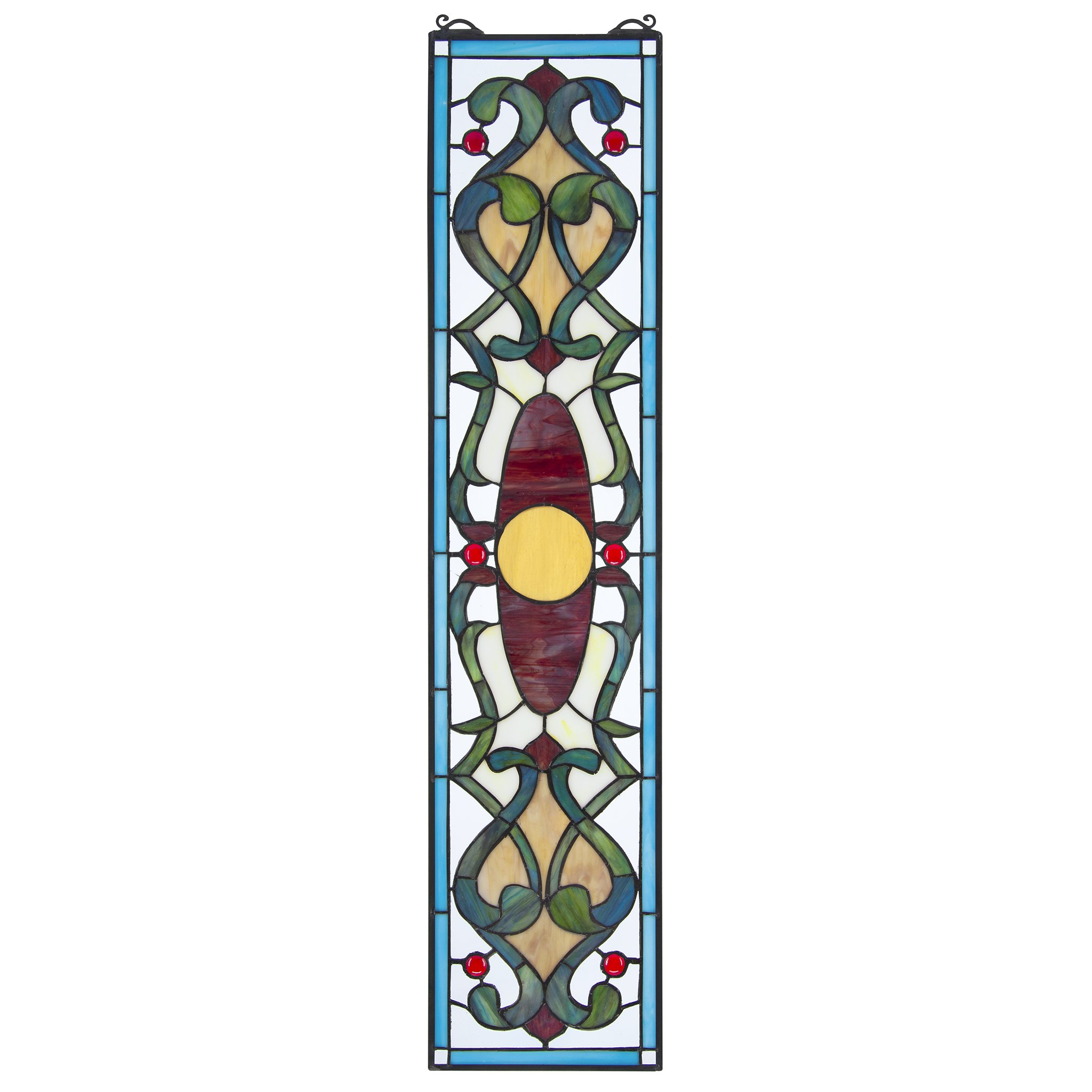 Stained Glass Panel - Westbourne Place Stained Glass Window Hangings - Window Treatments