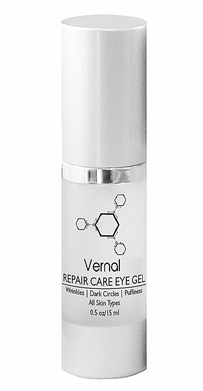 Vernal Repair Care Eye Gel - Under Eye Bags Treatment | For Dark Circles, Wrinkles, Dry Eyes, Puffy Eyes and More – 0.5 fl oz Sarati International Inc.