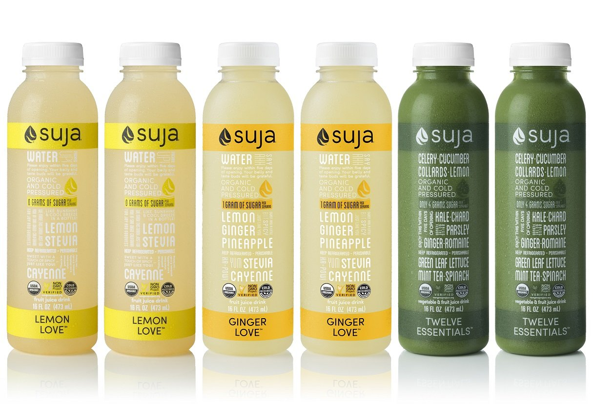 Suja Juice, Organic, Cold-Pressed Refresher Juice Pack, (Pack of 6)