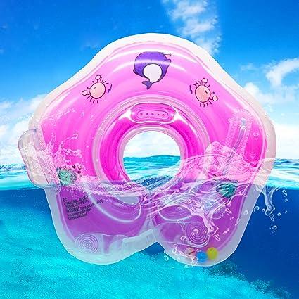 GBD Infant Natación Flotador Inflable Anillo de Seguridad, Flotador de Doble Airbags de para Bebes