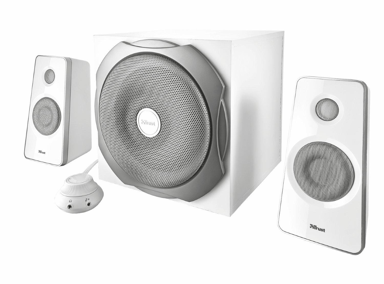 Trust Tytan 2.1 Lautsprechersystem mit Subwoofer: Amazon.de ...