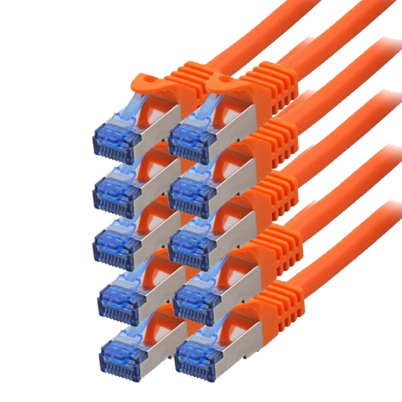 coppia ritorta 0,15m BIGtec,/cavo Ethernet wei/ß 10/´er Sparpack