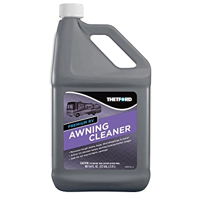 Premium RV Awning Cleaner for RV or Home Awnings 64 oz - Thetford 96017: Automotive