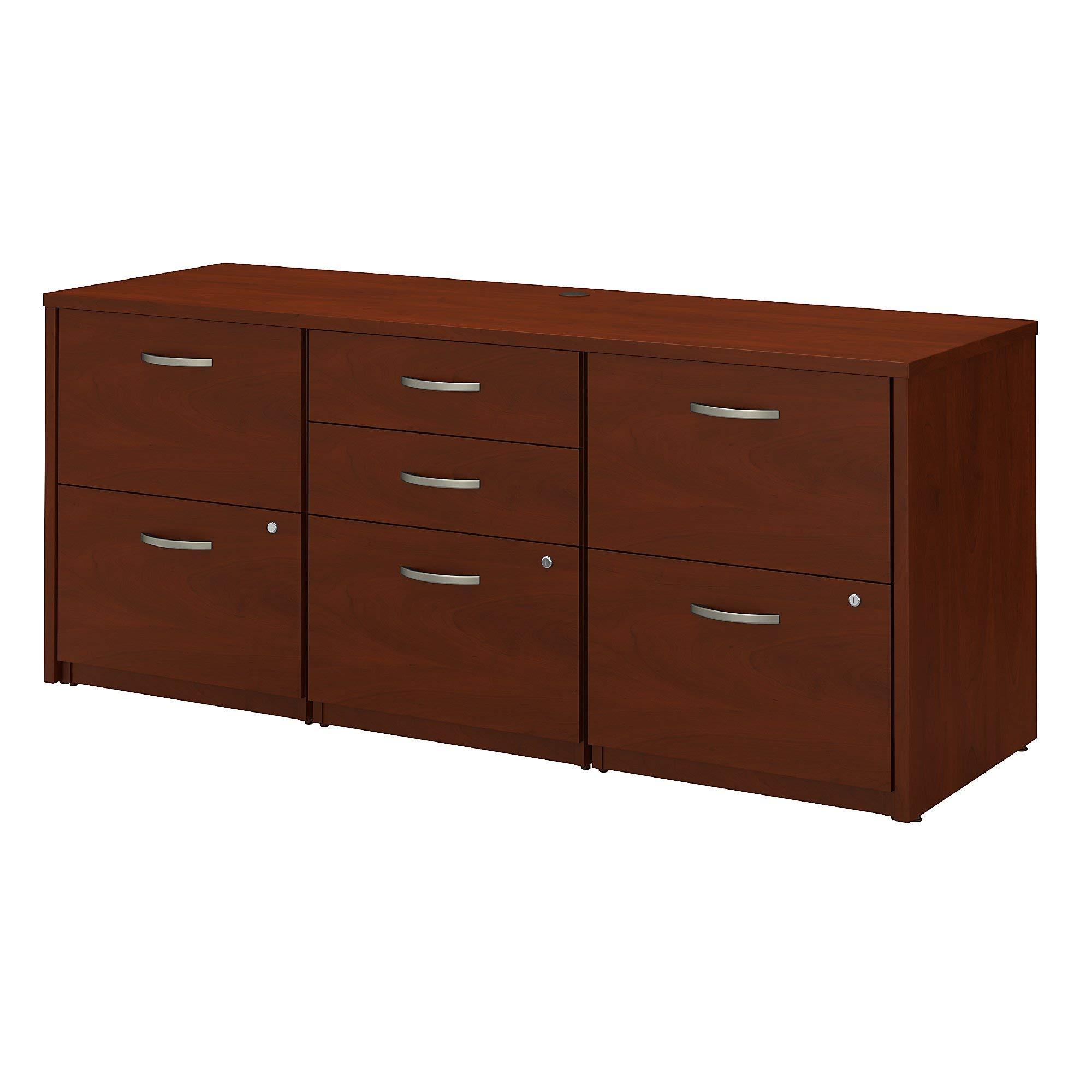 Bush Business Furniture Series C Elite Storage Credenza, Hansen Cherry by Bush Business Furniture (Image #1)
