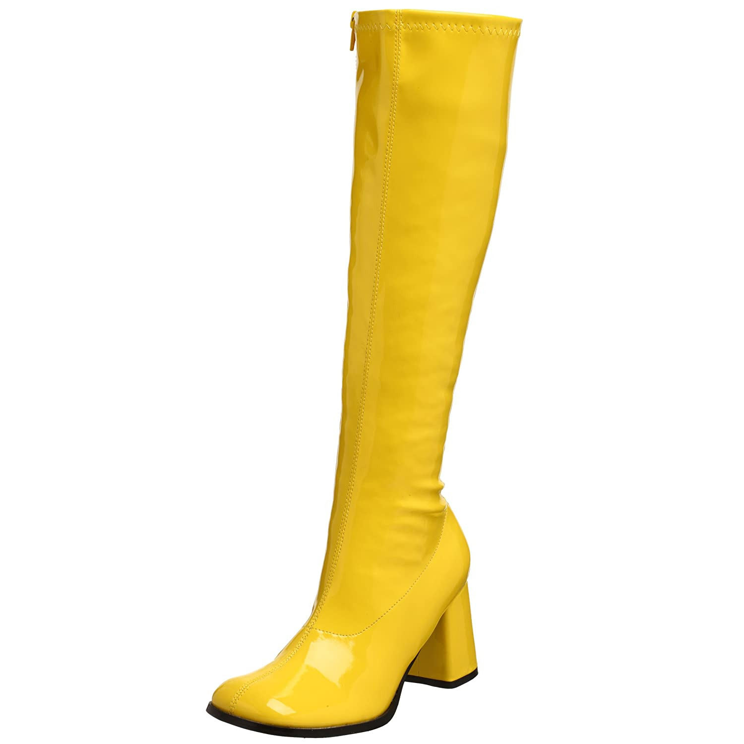 Pleaser Gogo300/yl, Damen Stiefel  41 EU|Gelb (Yellow)