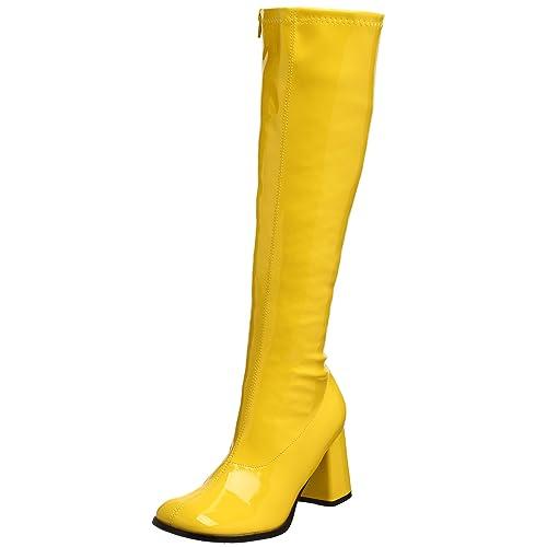 Zapatos Pleaser amarillos Gogo mujer para C1XwUXq