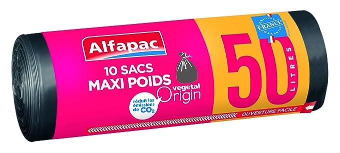 Alfapac - Bolsas de basura biodegradables, maxi, 3 rollos de ...