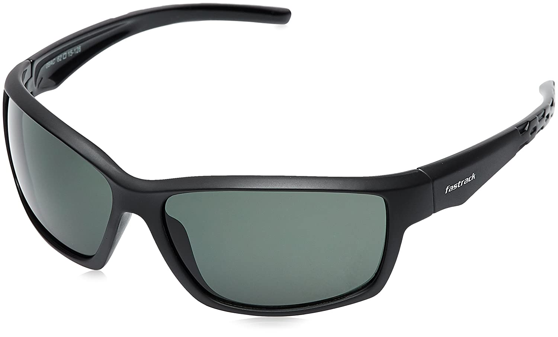 72cbed7511 Fastrack UV Protected Wrap-Around Men s Sunglasses (P315GR1