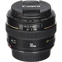 Canon EF 50mm F/1.4 USM Lens for Canon SLR Cameras (Black) - Refurbished