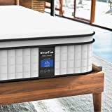 Inofia Full Mattress,10 Inch Memory Foam and Innerspring Hybrid Mattress in a Box, Breathable Comfortable Mattress, Supportiv