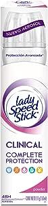 Antitranspirante Lady Speed Stick Clinical Powder Aerosol 91 G