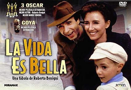 La Vida Es Bella Dvd Amazones Roberto Benigni Cine Y Series Tv