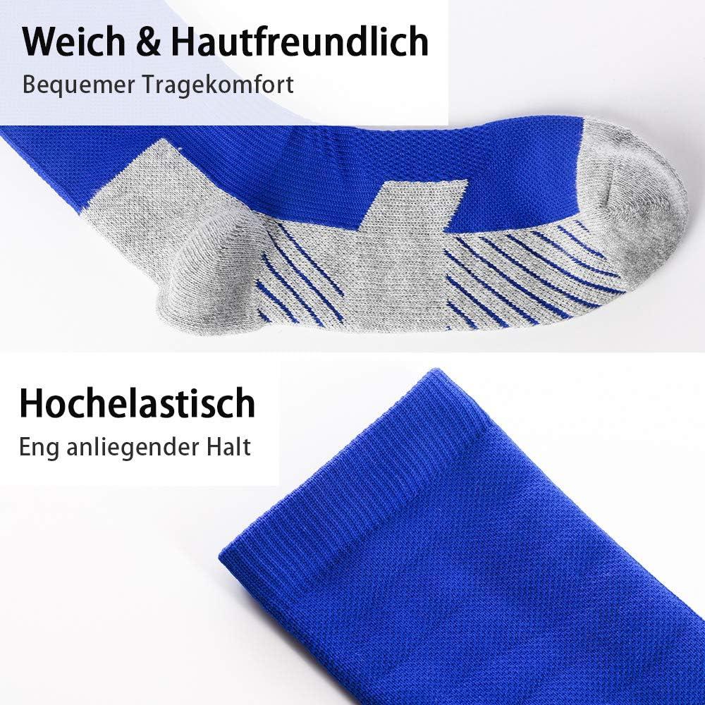 Kids Youth Football Socks for Children Boys Girls Sports Socks for Football Cushion Anti-Slip Running 6 colours Training