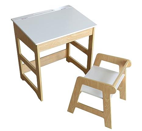 My Note Deco 066087 oficina escolar y asiento mesa: Larg 57 x Prof ...