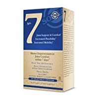 Solgar No. 7 - Joint Support and Comfort - 90 Vegetarian Capsules - Increased Mobility...