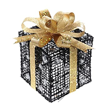 Weihnachten Geschenkbox Set Glanzend Glitzernd Strass Weihnachtsbaum