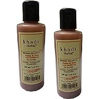 KHADI HERBAL HENNA & TULSI SHAMPOO WITH EXTRA CONDITIONING (SLS+SULFATE+PARABEN FREE)