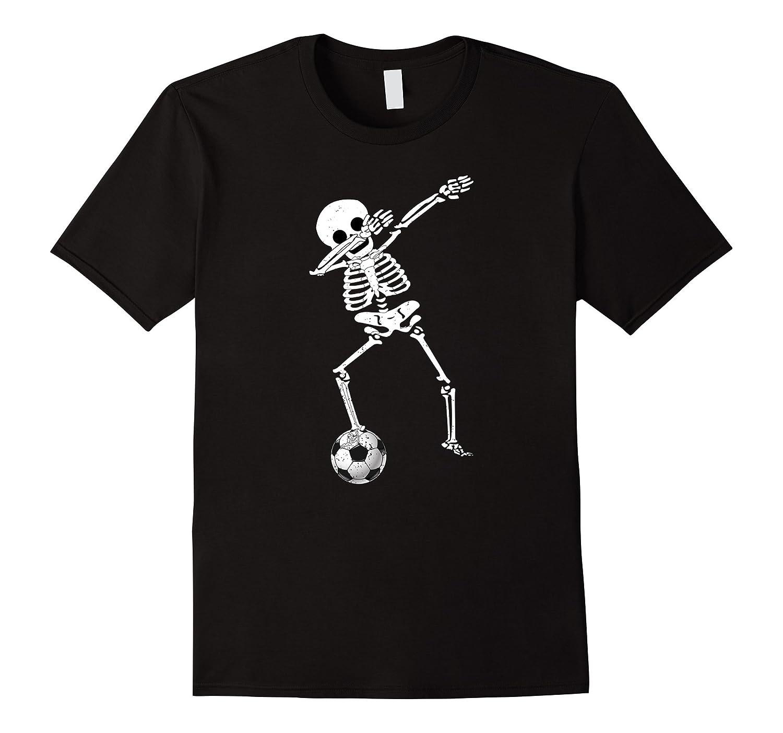 Shop Halloween Dabbing Skeleton Soccer Shirt Dabbing Skeleton Tee ...