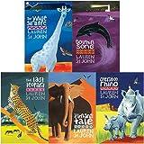 White giraffe series 5 books collection set by lauren st john