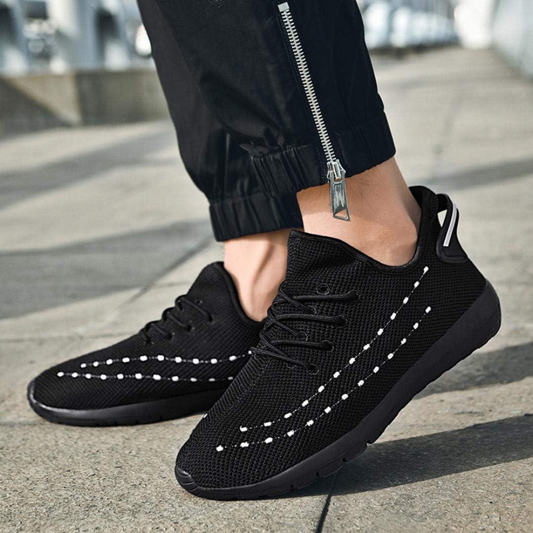 LuckyGirls Chaussures de Sports pour Homme 2.5CM Et/é Chaussures de Loisirs Running Courses Voyage Sneakers Respirant 39-47 。◕‿◕。 Meilleure Vente