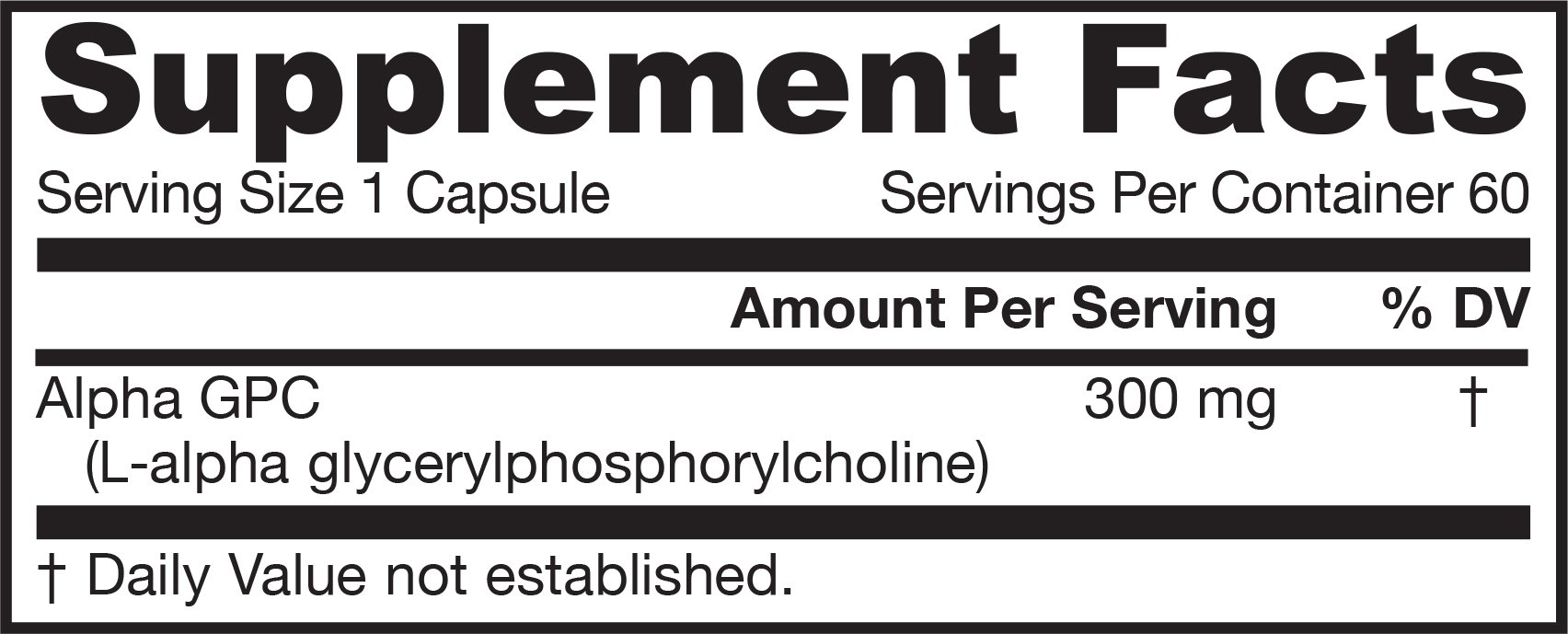 Jarrow Formulas, Alpha GPC 300, 300 mg, 60 Veggie Caps, 2 Pack by Jarrow