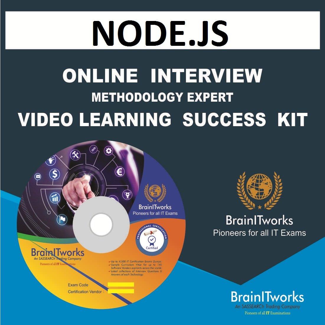 Amazon Nodejs Online Interview Video Learning Success Kit