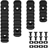 wipboten Picatinny Rail 5 7 9 11 Slots Polymer Black