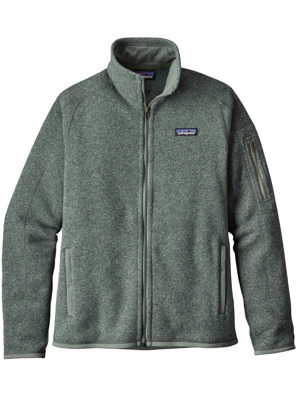 Patagonia Women Better Sweater Jacket - Hemlock Green (L) by Patagonia (Image #1)