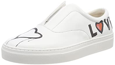 73c61c8a7afc87 Liebeskind Berlin Damen LF183780 Goat Slip On Sneaker
