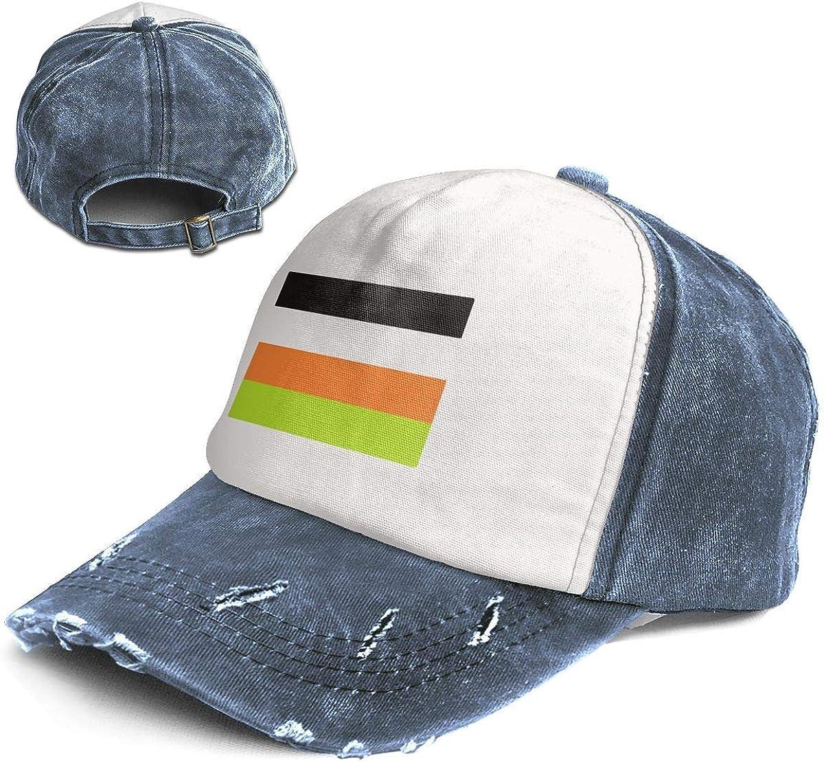 Fashion Vintage Hat Non Binary Pride Flag Adjustable Dad Hat Baseball Cowboy Cap