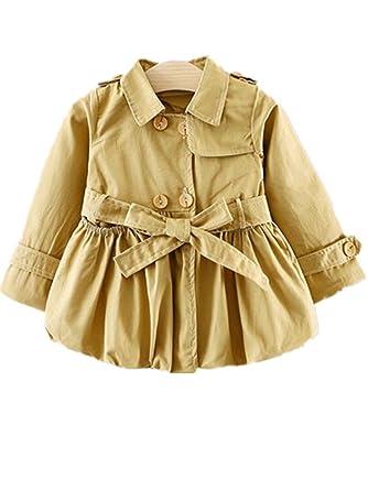 be180e985049 Amazon.com  David Nadeau New Autumn Girl Jacket Kids Clothes Baby ...