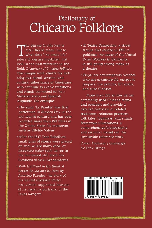 Dictionary of Chicano Folklore: Amazon es: Rafaela G  Castro